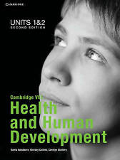 Cambridge VCE Health and Human Development Units 1 and 2 Bundle: Units 1 and 2 b