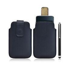 Housse coque étui pochette bleu pour Apple Ipod Touch 1G/2G/3G + Stylet