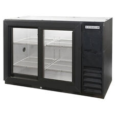 Beverage Air Bb48Gsy-1-B, 48-Inch Back Bar Cooler with 2 Glass Doors, Ul, cUlus