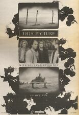 15/9/90 Pgn25 Advert: This Picture with You I Can Never Win Ep Out Now 10x7