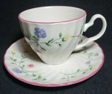 Johnson Brothers Summer Chintz Teacup & Saucer Set EUC Fast Ship Made in England