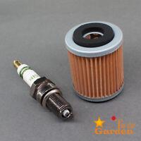 Tune Up Kit Oil Filter For Yamaha YFM350X Warrior 350 YFM350 YFM 350X Spark Plug