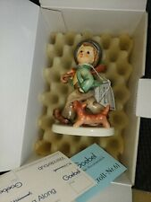 Goebel Hummel Figurine # 5 - Strolling Along Tmk6 w/ Original Box New in Box