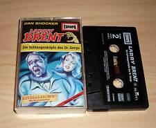 Larry Brent - Hörspielkassette MC Folge 9 - Die Schlangenköpfe des Dr. Gorgo