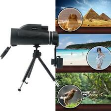 80x100 Hunting Camping Optical Lens Monocular Telescope Zoom Hd Night Vision New