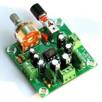 Low Voltage Audio Stereo Amplifier Module, Based on NJM2073D