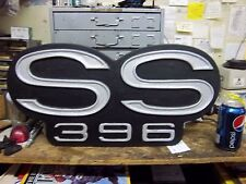 SS 396 WALL PLAQUE- CHEVY CHEVELLE CAMARO SBC BBC NHRA GASSER RACING ROD