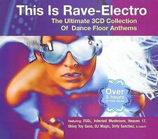 This Is Rave-Electro (CD Box 3 Discs) Infected Mushroom Talla 2XLC Info Society