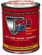 POR15  - Peinture anticorrosion gris 1 Pint (ca 475 ml) / grey, grau
