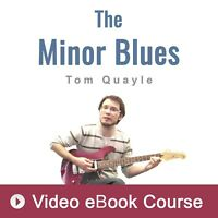 Blues Guitar Lesson by Tom Quayle (VIDEO) - Video Guitar Lesson
