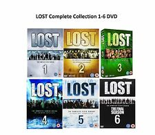 LOST Complete Series 1-6 DVD Collection Season 1 2 3 4 5 6 UK Rel R2 New Sealed