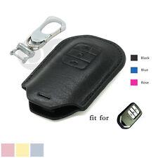 Genuine Leather Zipper Bag Holder fit for Honda Odyssey Smart Remote Key 5207BR