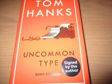 Tom Hanks Signed Uncommon Type With RARE Event Extras Autographed 1st Ed Book