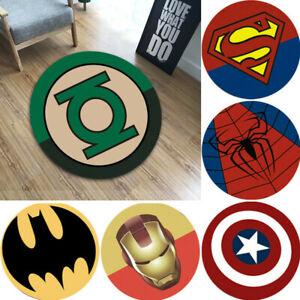 Avengers Superhero Carpet Non Slip Rugs Bathroom Mat Kids Home Living Decor Gift