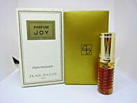 Jean Patou Joy 7.5 ml 0.25 oz pure parfum perfume 18Dec34-T