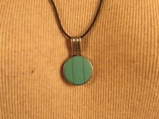 MFX Sterling Turquoise and Onyx Pendant  @ A Village Coin Bullion 9/22/4 B