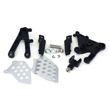 Motorcycle Front Foot Pegs Pedal Footrest + Bracket For Honda CBR600RR 2003-2006