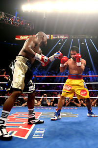 Manny Pacquiao vs Floyd Mayweather Vertical Poster 24x36 inches