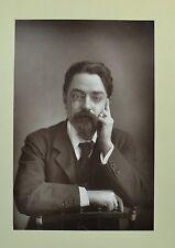 1890s Cabinet Card Portrait Photo Mr Sidney Webb LSE Socialist Fabian W&D Downey