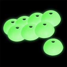 8 Stück Heringschutzkappen für Zeltheringe Glow in the dark leuchtend
