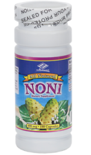 All Natural Noni Extract 400mg 180 Capsules, 6 Months Supply - NEW - FREE SHIP