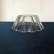 Vintage Glass Pyrex Jelly Trifle Cake Mould Dish Mold Dessert Pudding Oven Safe