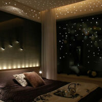Glow In The Dark Stars Moon Wall Stickers Round Dot Luminous Kid Room Home Decor