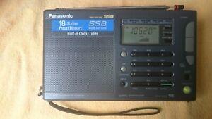 Portable Vintage Radio Panasonic RF B45 with Single Side Band