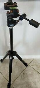 Manfrotto 3021BN Camera Tripod w/Manfrotto 3039 Super Pro 3-Way Head