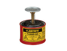Plunger can 2 litre for safe dispensing of flammable liquids Justrite 10208