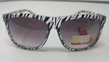 Hawaiian Tropic Women's Sunglasses Cat's Eye Animal Stripe Gradient Violet NWT