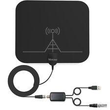 Mercase Antenne TNT Intérieure Amplifiée [Rayon de 60miles, Câble DE 13.2ft a