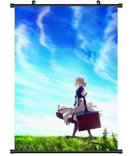 "Hot Japan Anime Violet Evergarden Poster Wall Scroll Home Decor 8""×12"" FL933"