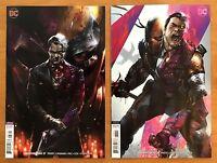 Deathstroke 37, 38 2018  Francesco Mattina Variant Covers 1st Print DC Comics NM