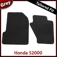 HONDA S2000 1999-2009 Tailored Carpet Car Floor Mats GREY