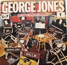 George Jones: My Very Special Guests [LP vinyl Epic JE 35544] *White label
