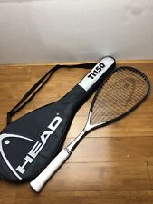 New Head Ti.150 squash racquet with a new grip Austria &  Include Racket Case