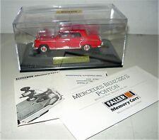 "Faller 4346, Mercedes-Benz 220 S (Ponton) ""Feuerwehr"" (1956-59), 1/43, NEU&OVP"