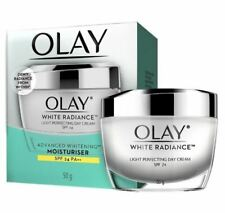 OLAY White Radiance Light Perfecting Day Cream SP 24 Whitening Moisturizer 50 g