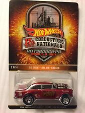 2017 Hot Wheels 17th Nationals Convention #2 '55 Chevy Bel Air Gasser 1 of 2800