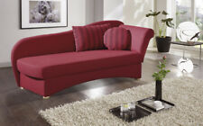 Canape Recamiere Chaiselongue Schlafsofa Schlafcouch Liege NATASCHA B Restyl Neu