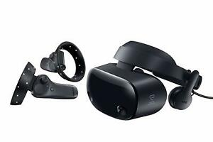Samsung HMD Odyssey+ Windows Mixed Reality Headset with 2 Wireless Controllers