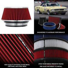 Spectre Performance 8162 Universal Clamp-On Air Filter: Round Tapered; 3 In/3.5
