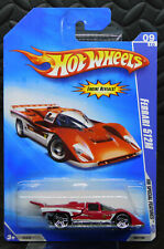 HOTWHEELS SPECIAL FEATURES 2009 FERRARI 512M RED LOOK RARE!