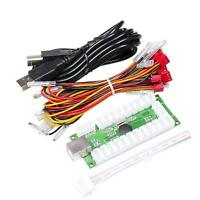 Zero Delay USB Encoder to PC Compatible Arcade Joystick Kit Controller Mame Game
