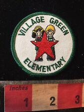 Vtg VILLAGE CREEK ELEMENTARY School Patch C77K