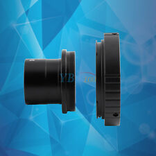 """1.25"""" Astronomical Telescope Mount Adapter + T SLR Ring For Canon Camera Lens"""