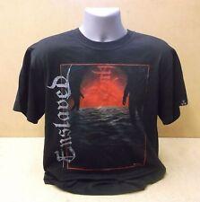 ENSLAVED In Times official Nuclear Blast black short sleeve t-shirt UNWORN XL