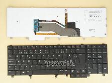 NEW FOR DELL Latitude E6520 E6530 E6540 Keyboard Backlit Norwegian Tastatur