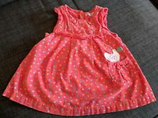 Adorable, Unique Pepco Baby Pink Corduroy Dress Size: 3-6 months